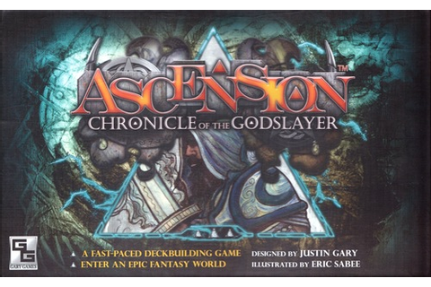Ascension: Chronicle of the Godslayer | Board Games Wiki ...