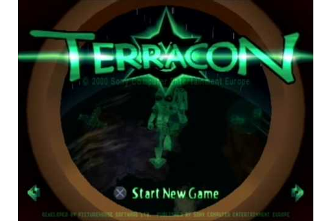Terracon PSX - Opening and first level gameplay - YouTube