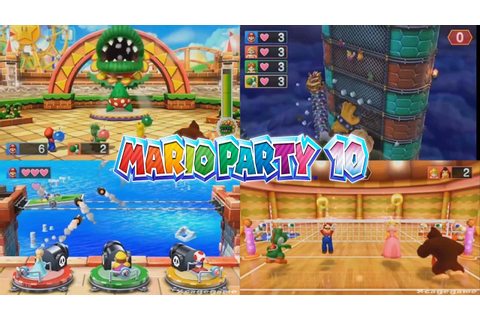 Mario Party 10 - 37 Minigames , Boss Battles & Bowser ...
