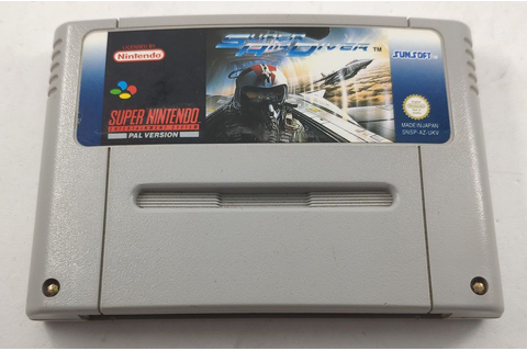 Buy Super Air Diver (UK SNES Games) at ConsoleMAD