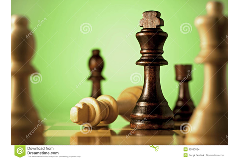 Chess, A Game Of Skill And Planning Stock Images - Image ...