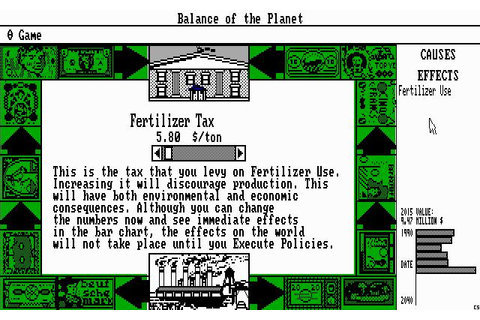 Balance of The Planet Download (1990 Simulation Game)
