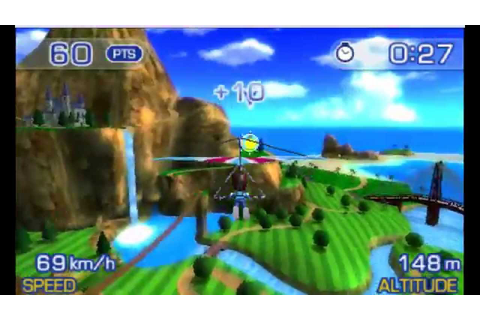 PilotWings Resort 3D Gameplay {Nintendo 3DS} {60 FPS ...