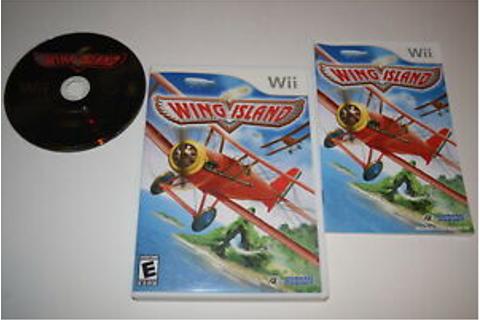 Wing Island Nintendo Wii Video Game Complete | eBay