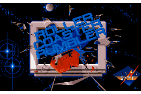 Roller Coaster Rumbler (1989) by Tynesoft Amiga game