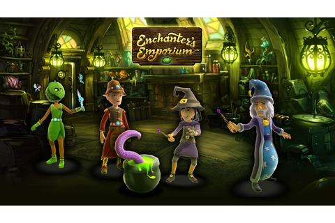 NinjaBee Games: Enchanter's Emporium
