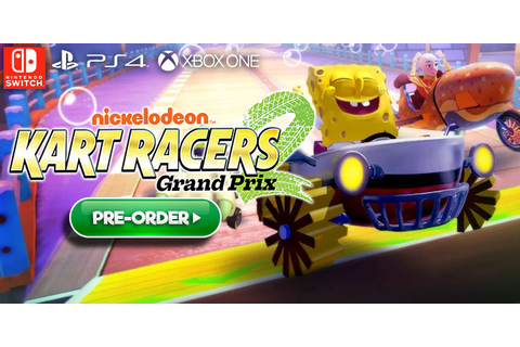 Nickelodeon Kart Racers 2: Grand Prix Confirmed For PS4 ...