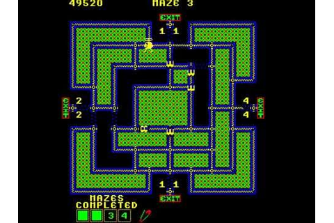 Arcade Game: Pepper II (1982 Exidy) - YouTube