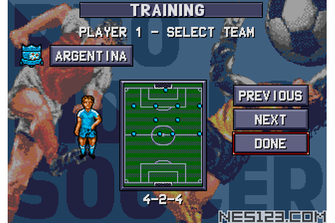 AWS Pro Moves Soccer SEGA Roms Games online