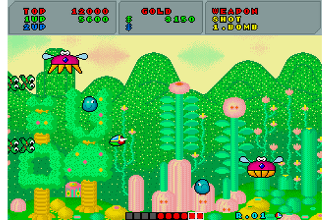 Fantasy Zone screenshots for Arcade