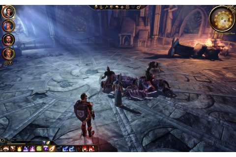 Dragon Age: Origins - Slaying the first Orge at the Tower of Ishal