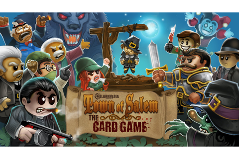 Town of Salem - The Card Game by BlankMediaGames —Kickstarter