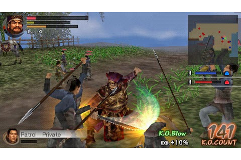 Dynasty Warriors Vol 2 | Download Game PSP PPSSPP PS3 Free