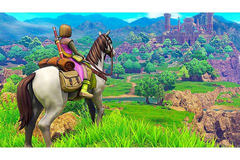 DRAGON QUEST 11 - English First Gameplay Demo (2018) - YouTube