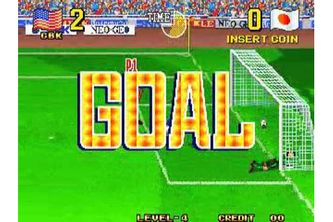 Play - Taito-power-goal-arcade-soccer-game-1994