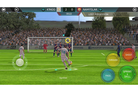 Fifa Soccer 2018 Android Gameplay - YouTube