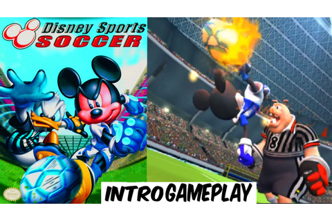 Disney Sports Soccer - INTRO & GAMEPLAY - GAMECUBE HD ...