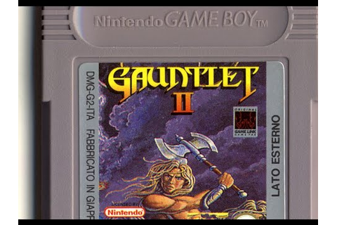 Classic Game Room - GAUNTLET II review for Game Boy - YouTube