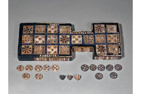The Royal Game of Ur Sumerian, 2600-2400 BC The British ...