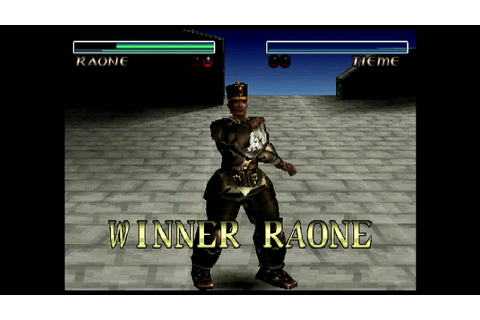 Destrega (PlayStation) 1P Battle as Raone - YouTube