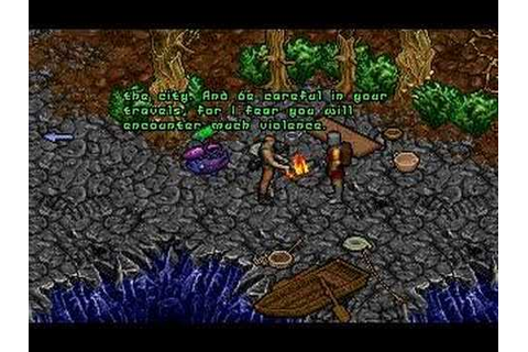Ultima VIII: Pagan - Introduction and First Execution ...