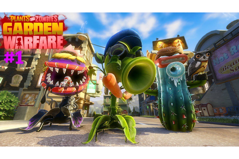 #1 Plants vs Zombies Garden Warfare -- PS4 - YouTube