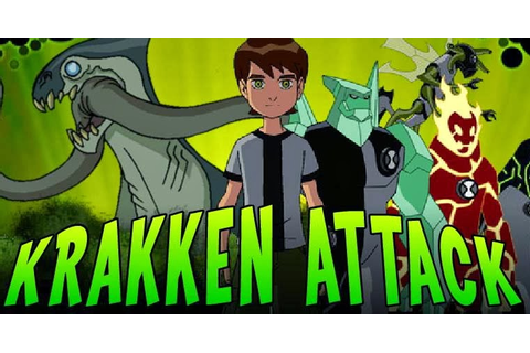 Ben 10 Krakken Attack Game Free Play Online