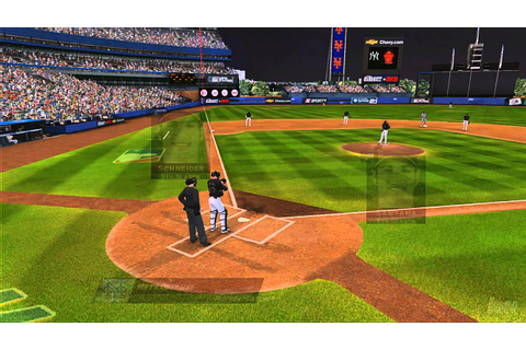 Major League Baseball 2K8 Xbox 360 Gameplay - Santana Gets ...