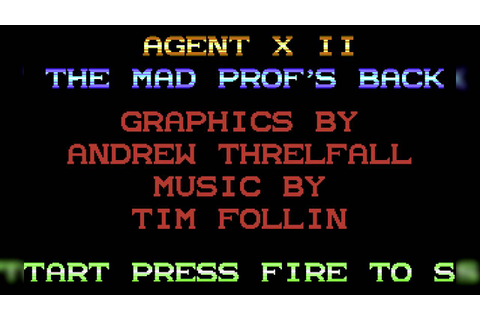 The Best of Retro VGM #634 - Agent X II: The Mad Prof's ...