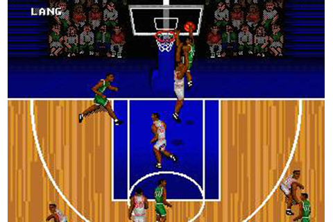 NBA Action '95 starring David Robinson (Mega Drive) - N.i ...