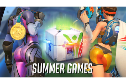 Overwatch Summer Games + Loot box opening - YouTube