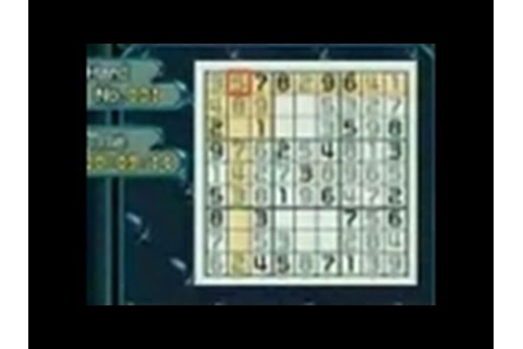 Sudoku Gridmaster Nintendo DS Gameplay - YouTube