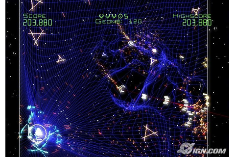 Hands-On With Geometry Wars: Galaxies - IGN