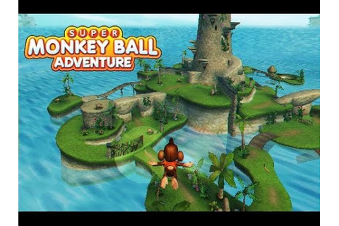 Super Monkey Ball Adventure (Gamecube Gameplay Footage ...