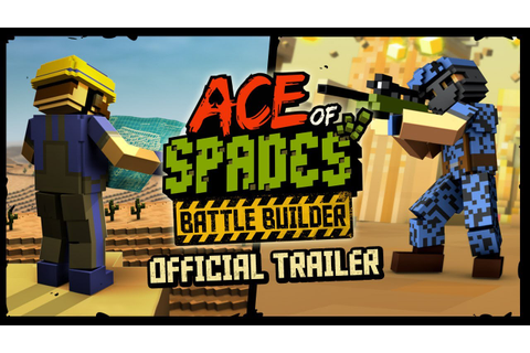 Ace of Spades: Battle Builder Game Trailer - YouTube