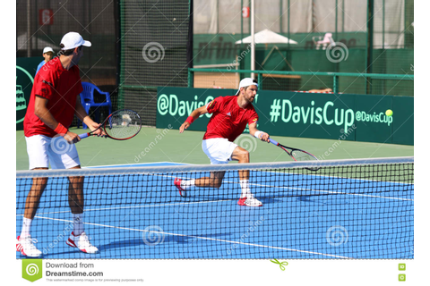 Davis Cup Tennis Game Ukraine V Austria Editorial ...