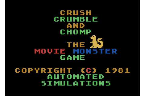 Download Crush, Crumble and Chomp! - My Abandonware