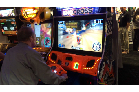 SnoCross Arcade Machine - Winter X Games at www ...