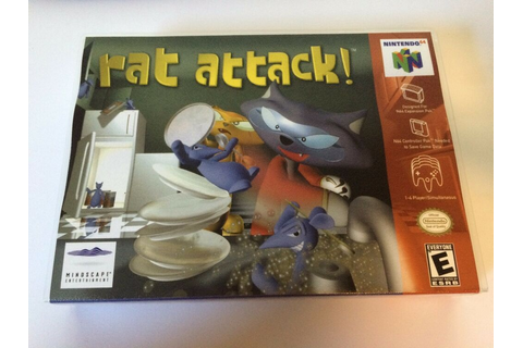 Rat Attack - Nintendo 64 - Replacement Case - No Game | eBay