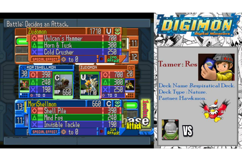 Digimon Digital Card Battle - Walkthrough Part 1: Beginner ...