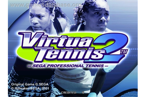 Virtua Tennis 2 - Sega Naomi - Games Database