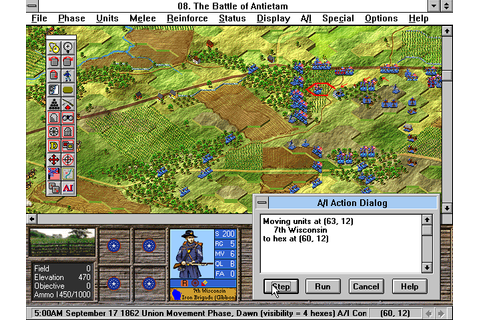 Battleground 5: Antietam (1997 - Windows/Windows 3.x ...