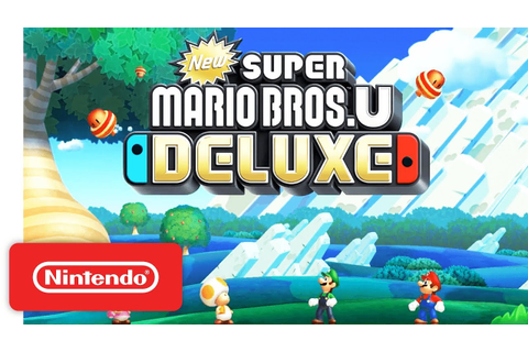 New Super Mario Bros. U Deluxe - Announcement Trailer ...