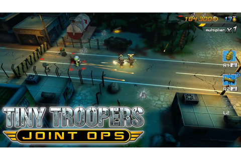 Tiny Troopers Joint Ops - Game-Play Preview PS3 / PS4 ...