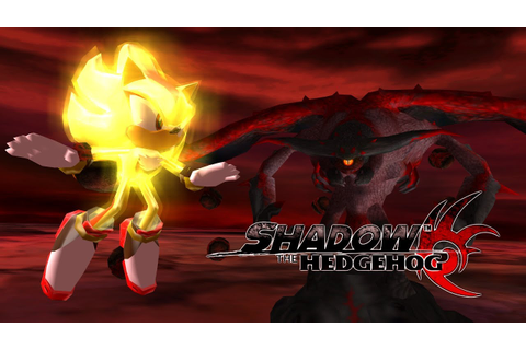 Shadow the Hedgehog - Final Boss - Super Shadow VS Devil ...