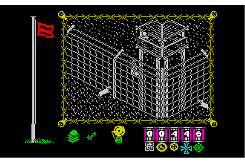 The Great Escape Screenshots for ZX Spectrum - MobyGames