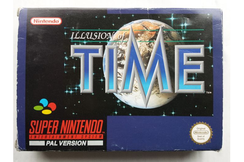 Super Nintendo game: Illusion of Time (PAL) inclusief ...