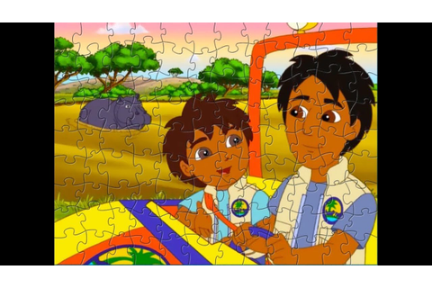 GO, DIEGO, GO! Puzzle Games for Kids - YouTube