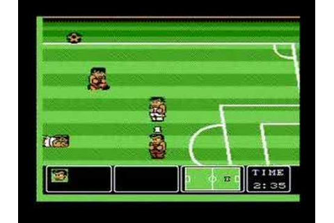 Nintendo World Cup - Best Goals on NES - YouTube