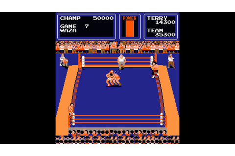 Arcade Game: The Big Pro Wrestling (1983 Technos Japan ...